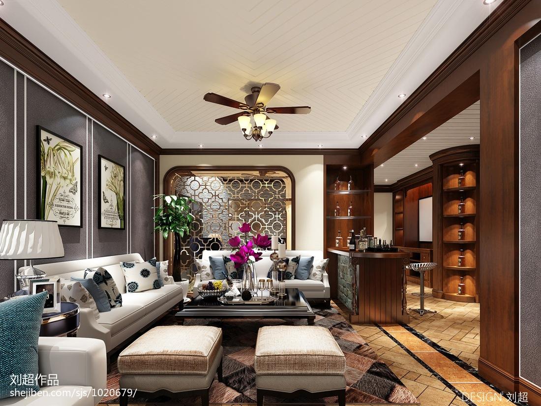 简约现代一居室装修设计效果图