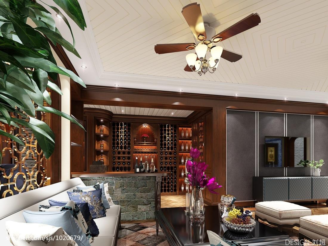 简约现代客厅装修设计效果图