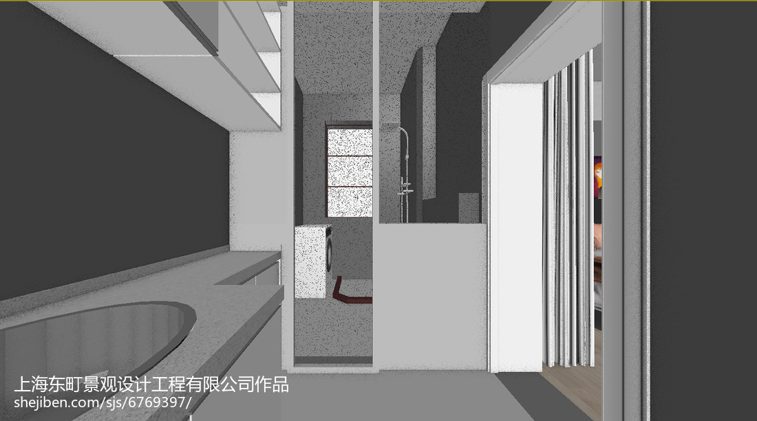 热门面积79平小户型卫生间简约效果图片
