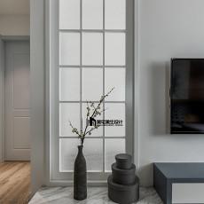 热门96平方三居客厅现代装修实景图片大全