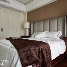 热门107平米三居卧室美式装修图片