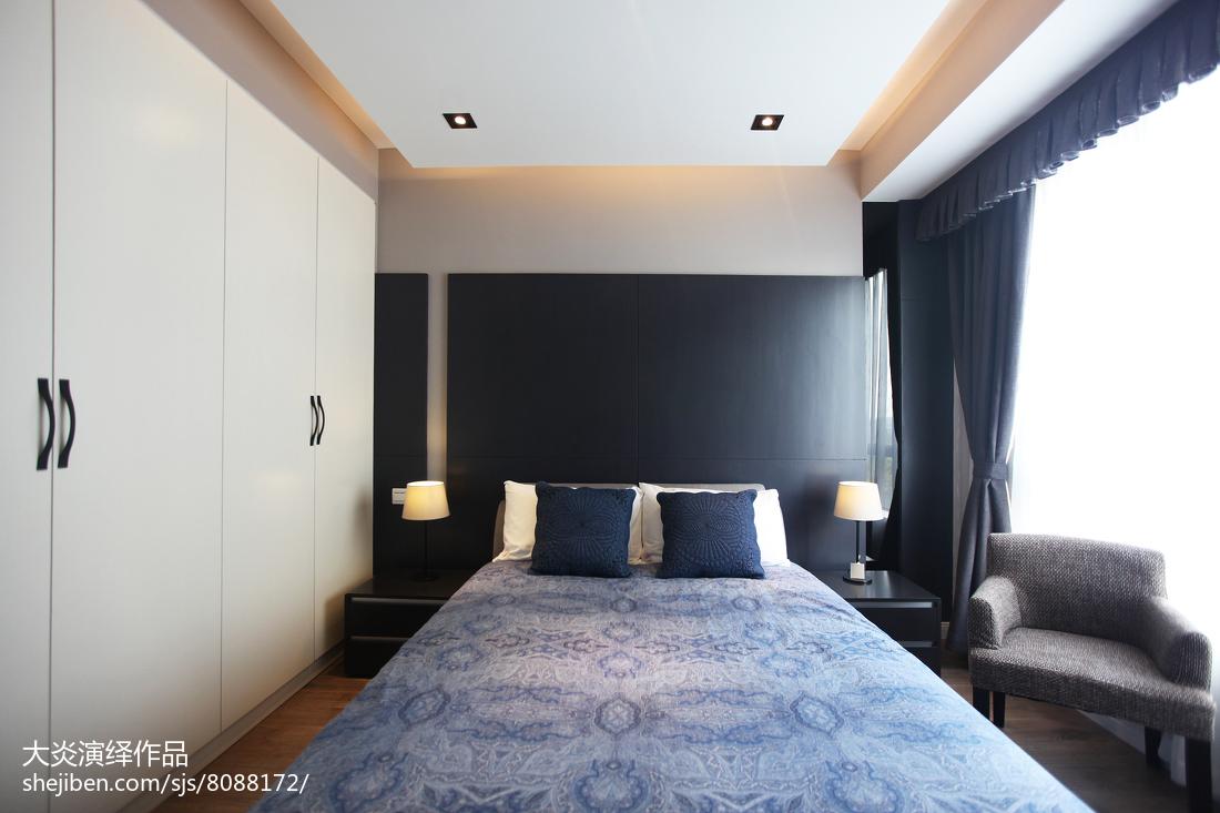 现代奢华风卧室设计