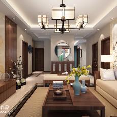 中式客厅天花