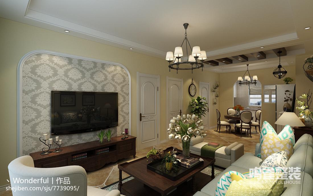 东南亚家庭室内样板房欣赏大全