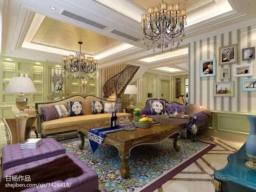 精选别墅客厅装修设计效果图片
