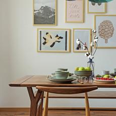 温馨92平现代三居餐厅美图