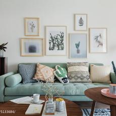 热门面积91平现代三居客厅装修效果图片欣赏