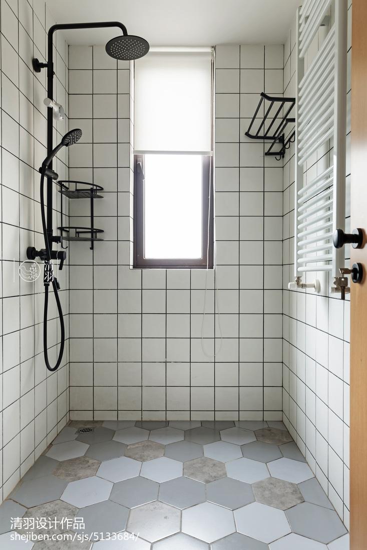 簡單現代衛浴裝修設計圖