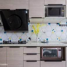 精选79平米二居厨房北欧装修欣赏图片