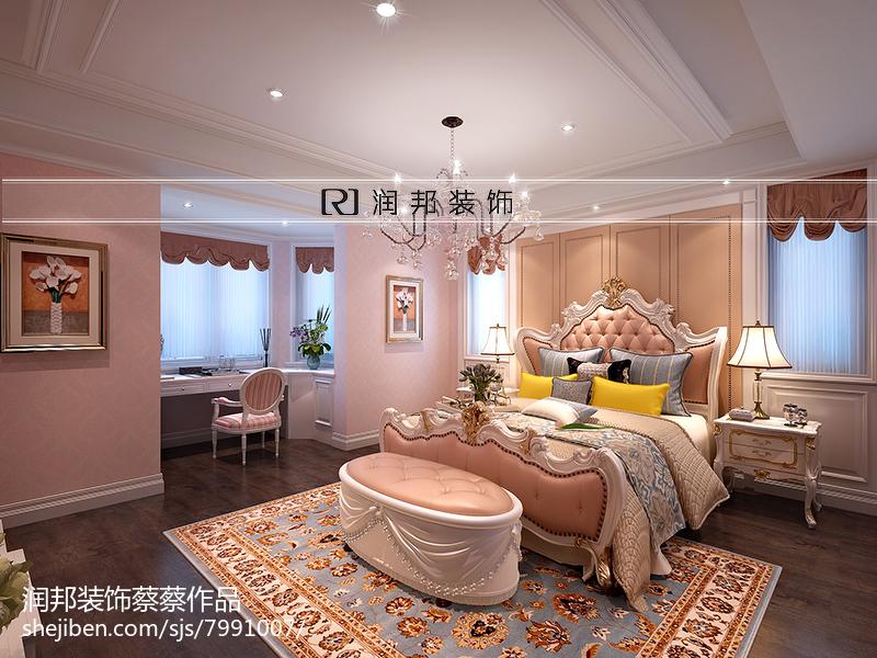 高雅欧式设计卧室效果图