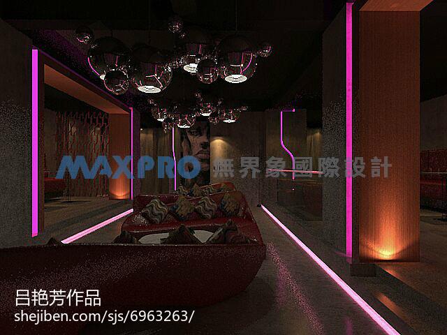 现代时尚典雅客厅设计