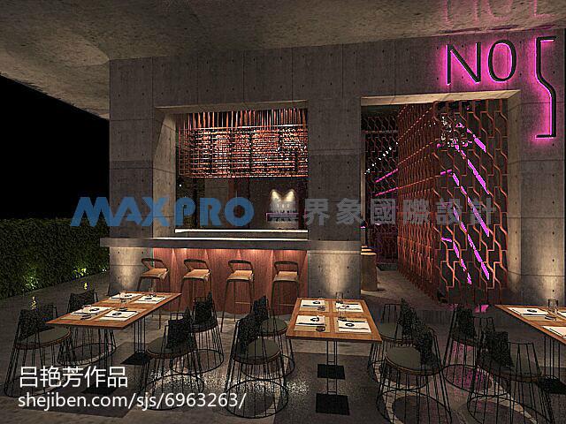 2018大小99平中式三居餐厅装修设计效果图