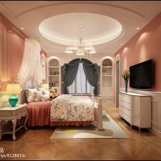 温馨欧式田园风格卧室装修效果图