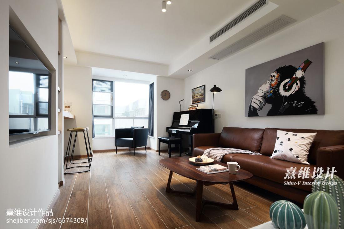 木质简约客厅设计图