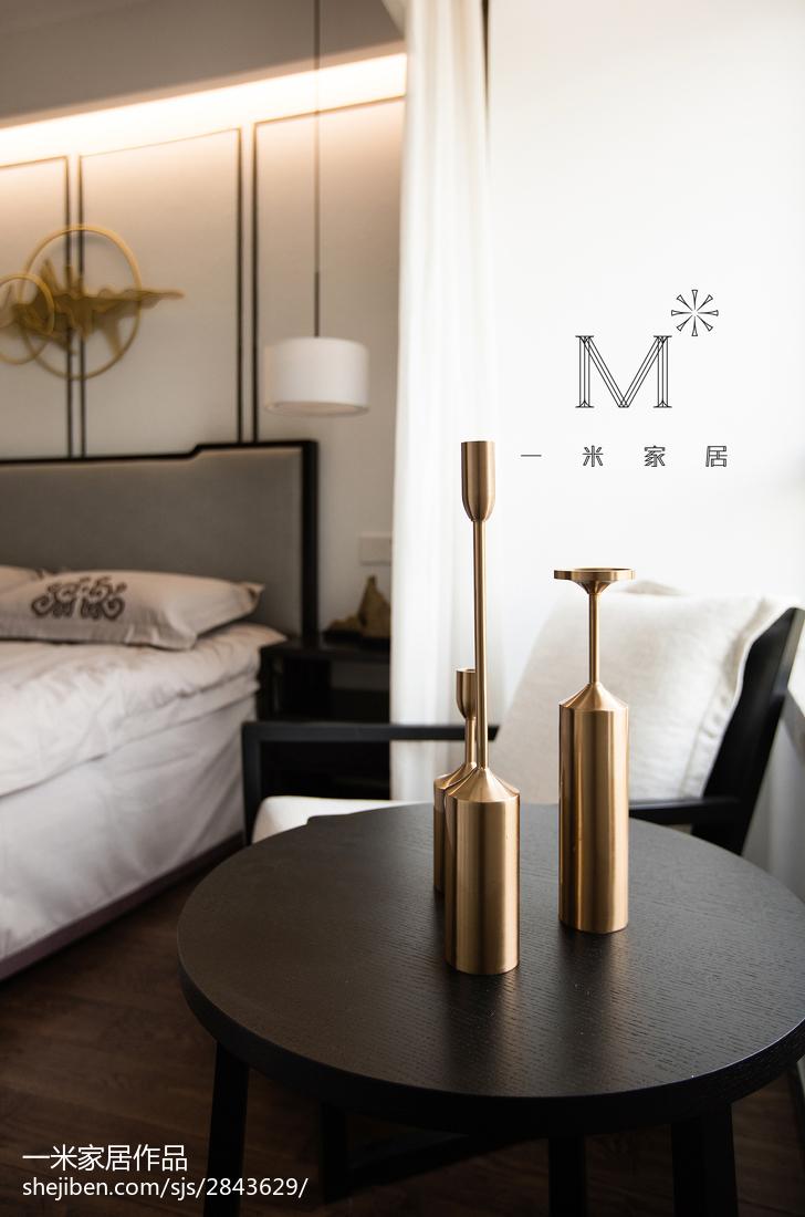 201899平米三居卧室中式装修设计效果图片