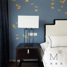 2018精选面积103平中式三居卧室装修设计效果图片