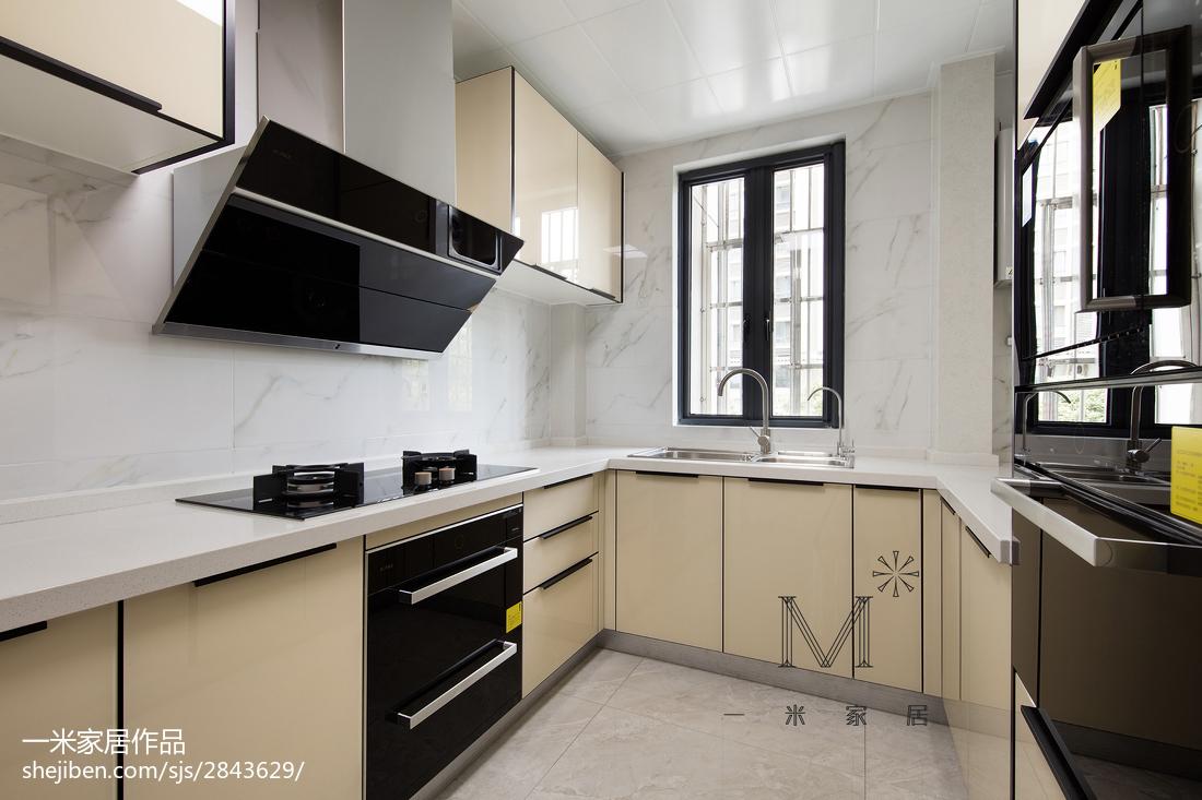 107平米三居厨房中式装饰图片
