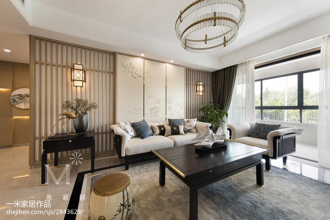 精美面积93平中式三居客厅装饰图