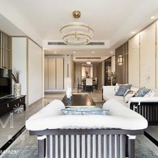 热门102平方三居客厅中式效果图片欣赏