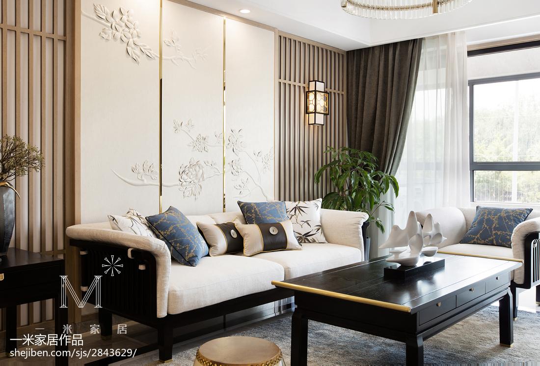 精美大小98平中式三居客厅效果图片