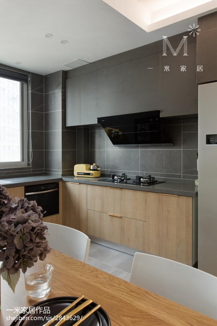 2018109平米三居厨房北欧实景图片