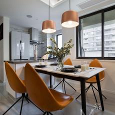 精美面积90平现代三居餐厅效果图片欣赏