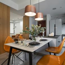 201896平米三居餐厅现代设计效果图