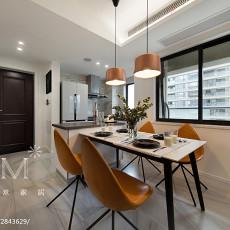 精选98平方三居餐厅现代装饰图片欣赏