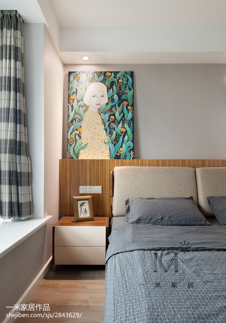 精美北欧三居卧室效果图片大全