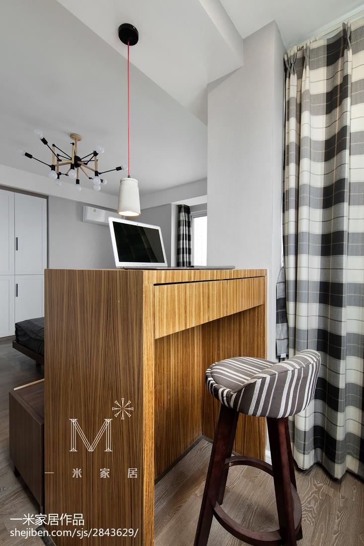 温馨74平北欧三居卧室效果图片大全