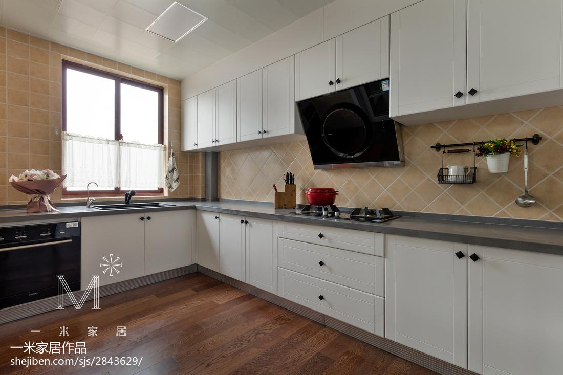 精选美式三居厨房装修实景图片欣赏