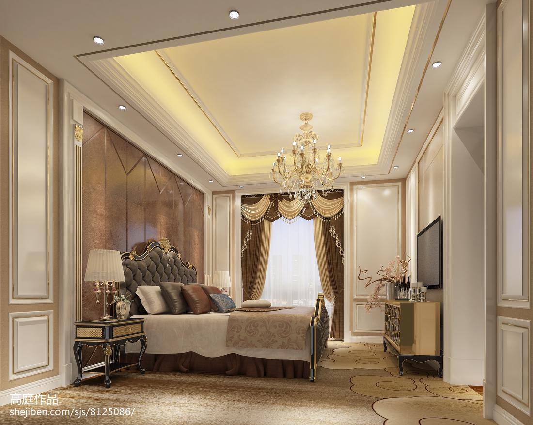 粉嫩地中海卧室装潢设计