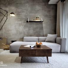 热门面积85平现代二居客厅装修设计效果图