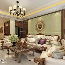 现代风格家庭装修客厅图片