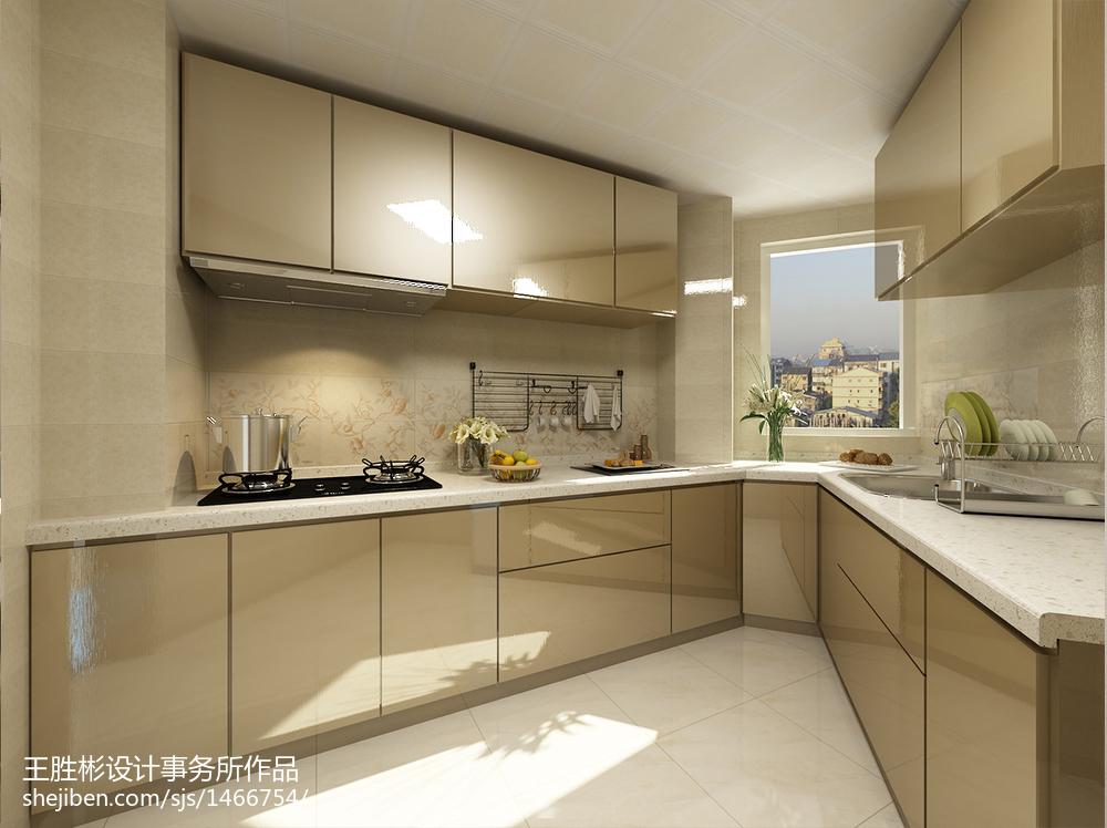 日式风格清新简约装修厨房