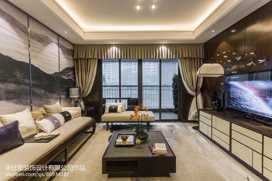 热门中式客厅装修欣赏图
