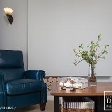 热门大小105平美式三居客厅装饰图片