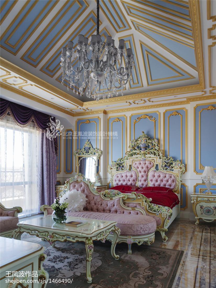 精美别墅卧室装修实景图