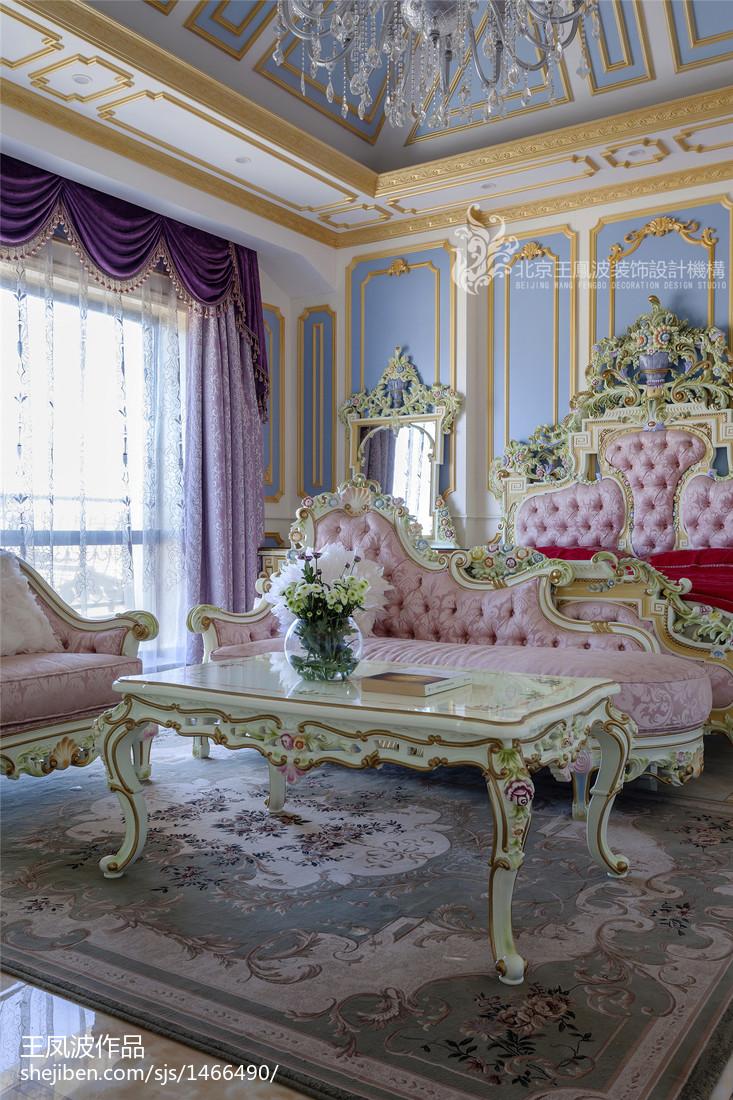 精美别墅卧室装修效果图片
