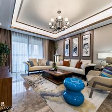 2018精选111平方四居客厅中式装饰图片