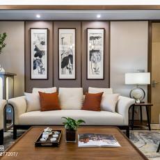 精美142平方四居客厅中式装修欣赏图