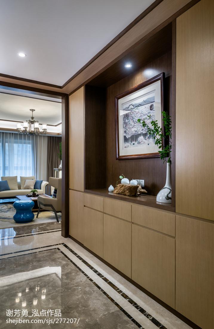 精美138平米四居玄关中式装修欣赏图片