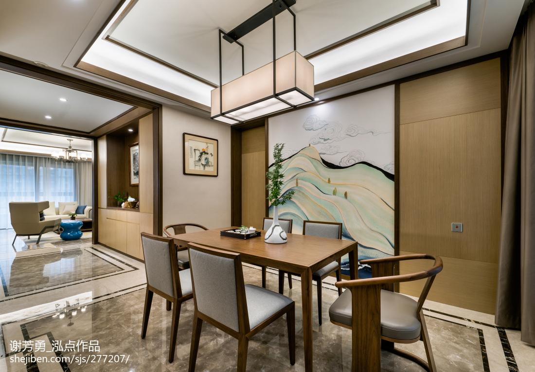 温馨132平中式四居装修图片