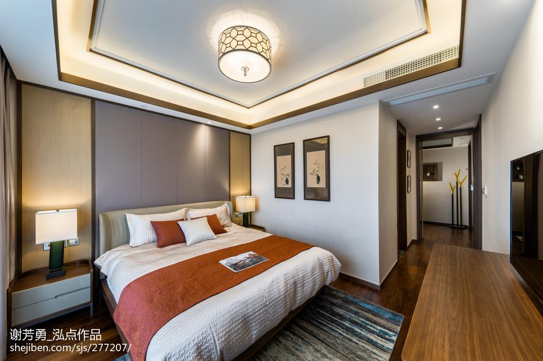 温馨116平中式四居装修图片
