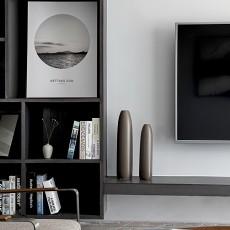 面积119平复式客厅现代实景图片大全