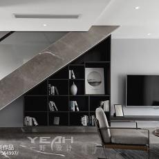 2018精选面积112平复式客厅现代装修图