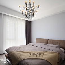 138平米现代复式卧室装饰图片欣赏