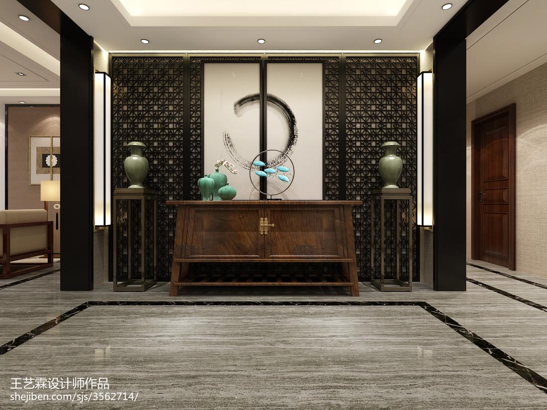 中式古典设计卧室效果图片