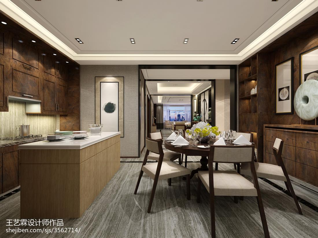 中式古典设计餐厅效果图片