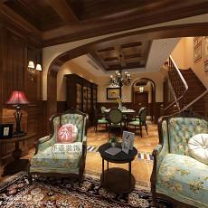 美式风格家庭餐厅装修效果图欣赏